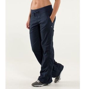 Lululemon Inkwell Blue Unlined Dance Pant 6R